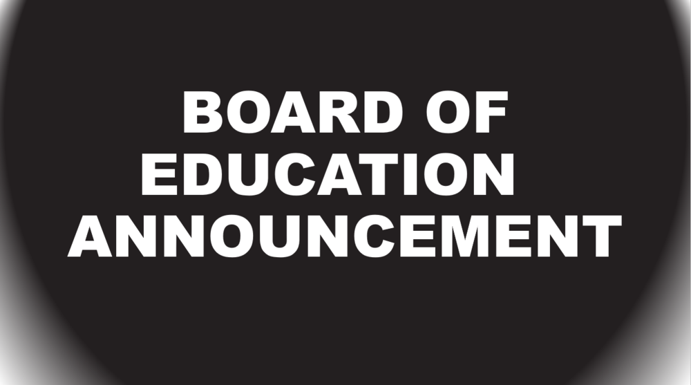 Board of Education March meeting rescheduled