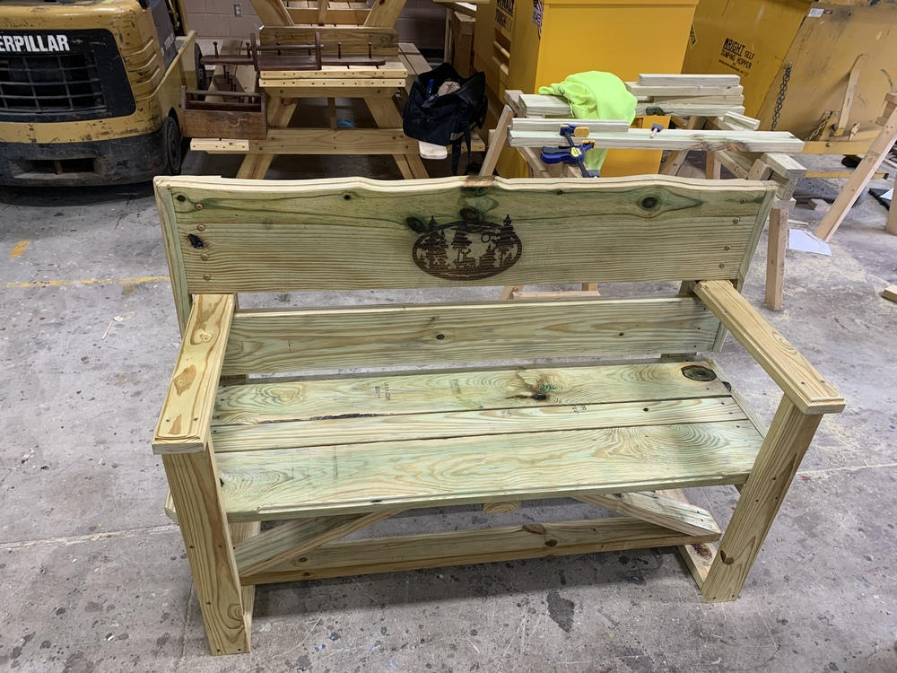 SHCTC Contest Entry Bench