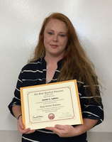 Congrats to Jamie Lykins for earning her Diploma