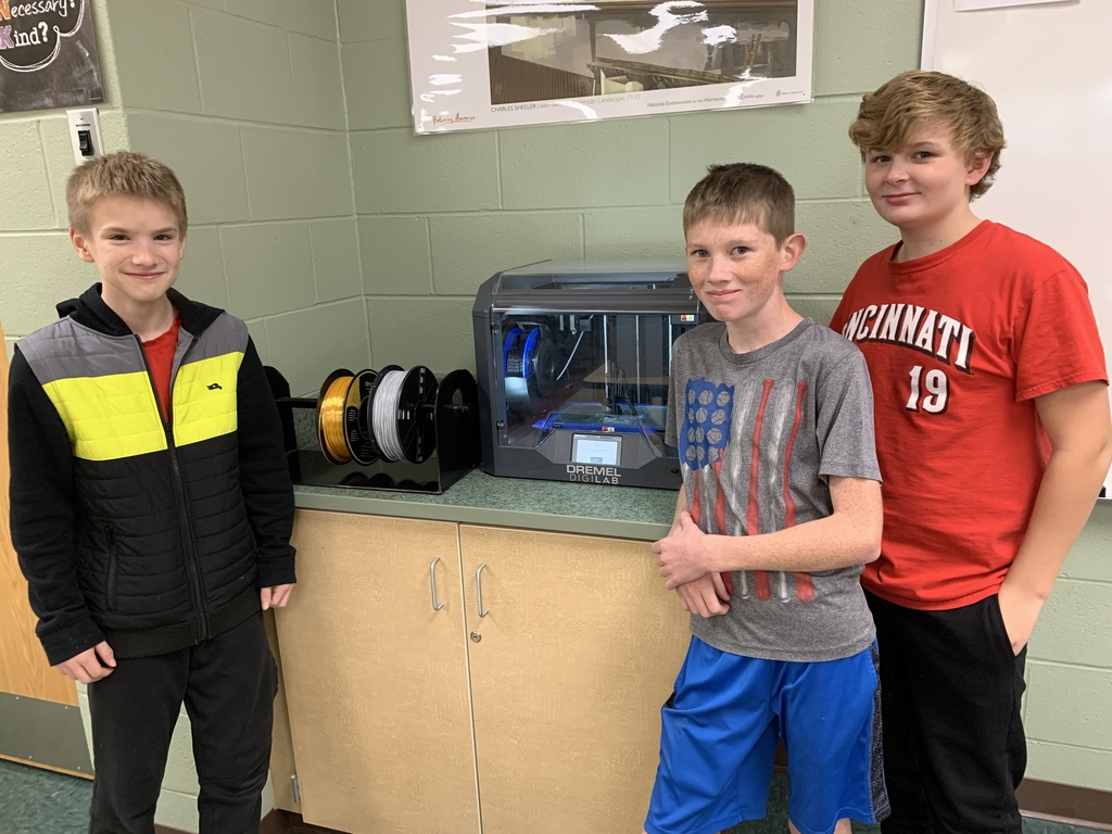 Students happy they can use more colors and types of filament in the 3D printer.