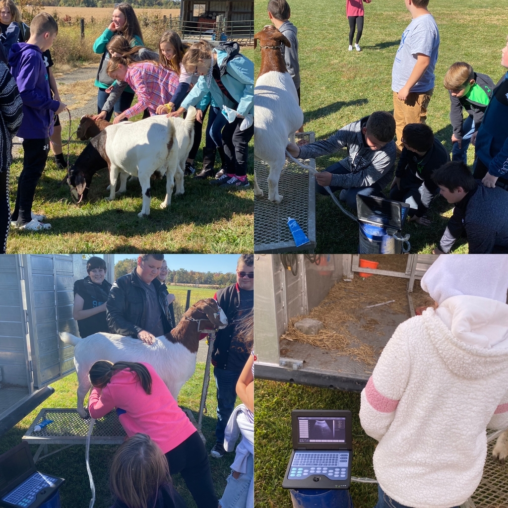 Eastern Middle School Ag Class