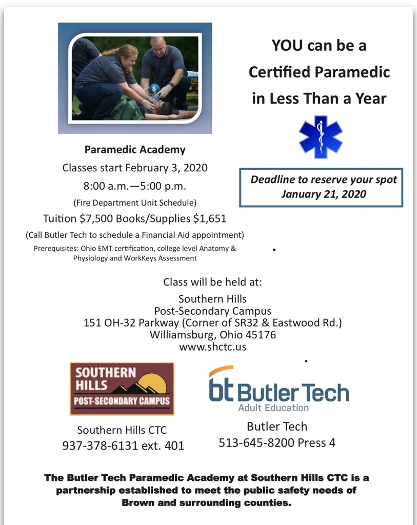 Upcoming Paramedic Academy!