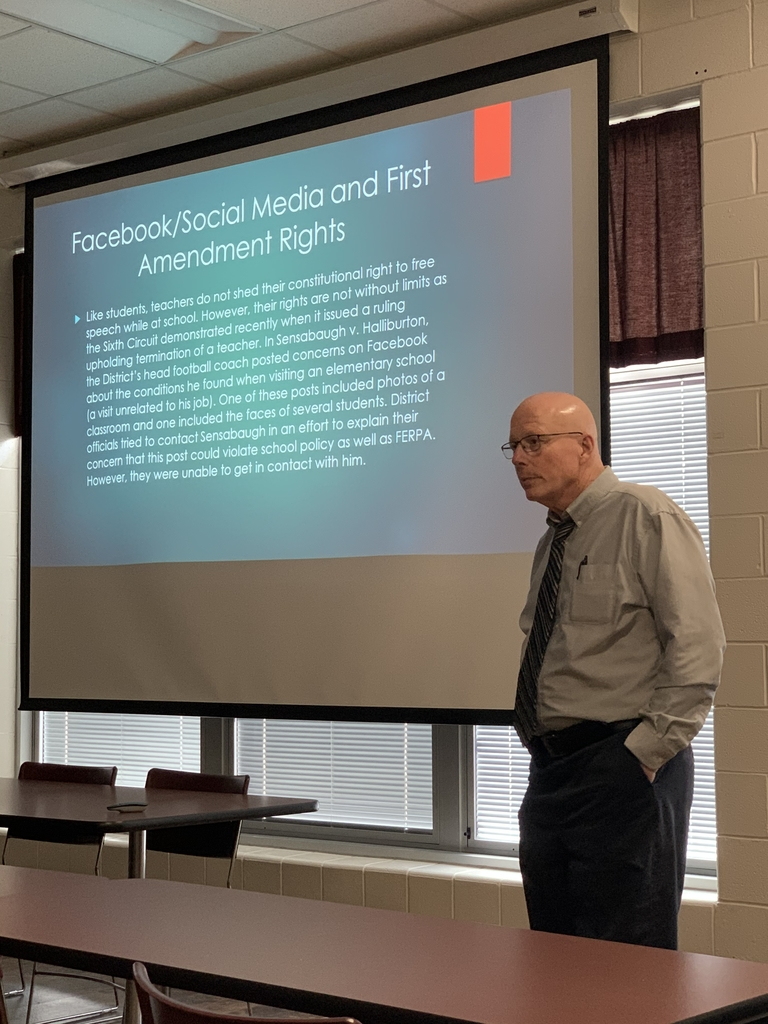 Mr. Don Rabold updates on Professional Conduct